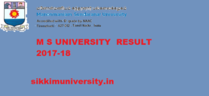 MS University Results 2020 Part 1,2,3 year PG/UG Exam at www.msuniv.ac.in 1