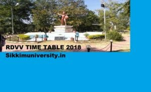 RDVV Date sheet 2020, Rani Durgavati University Part 1/2/3 year Time Table 2020@rdunijbpin.org 1