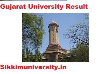 Gujarat University BA/B.Sc/B.Com Part 1,2,3 Result 2020-21 Semester Wise 1