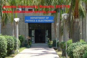Jammu University Results 2020 for Part 1/2/3 Yr. Semester UG/PG Exam Coeju.com 1