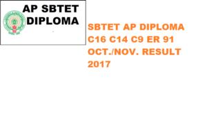APSBTET Diploma Results 2019-20 Oct.&Nov. @Sbtetap.gov.in -SBTET AP C 14 C 16 C09 Ist Year 3/4/5/6/7 Sem 1