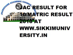 Jharresults.nic.in - JHARKHAND BOARD Matric Result 2020 - JAC 10th Results @Jac.nic.in 1