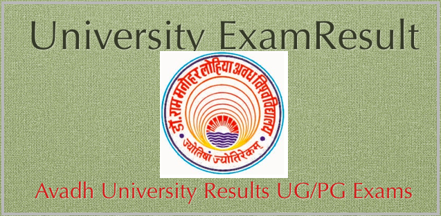 Download RMLAU Result 2020 – Avadh University Result 2020 B.A B.Com B.Sc rmlauexams.in 1
