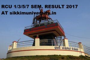 RCU 1/3/5/7 Semester Results 2020, Rani channamma University I, II, III Year Result Rcub.ac.in 2