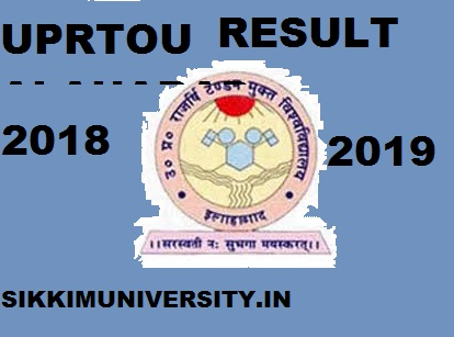 UPRTOU Results 2019-20 for 1/2/3 Year BSC BA B.Ed MCA Exam at Uprtou.ac.in 1
