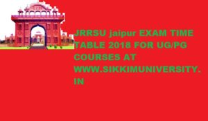 JRRSU Exam Schedule 2020 for Acharya Time Table & BA Shastri at Jrrsanskrituniversity.ac.in 1