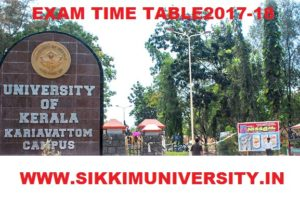 Kerala University Exam Schedule/Date sheet 2019-20, Check PG UG Exam Time Table @keralauniversity.ac.in 1