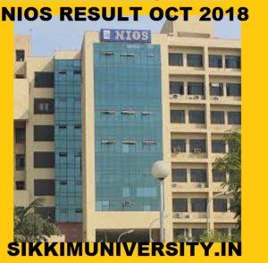 NIOS 12th Result October/November 2020 Sr.Secondary Exam Result Name Wise 1