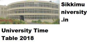 Bangalore University 2/4/6 Sem  Time Table 2019 Part I, II