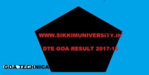 DTE Goa 1/3/5 Sem. Results 2020 @dtegoa.gov.in 1