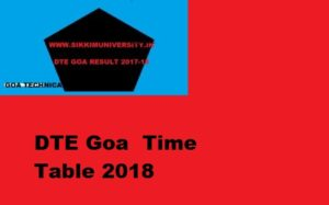 Dte Goa Exam Schedule May/June Exam 2021, Goa Polytechnic Diploma All Sem. Time Table 2021 1