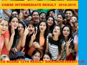 CGBSE 12th Results 2020 - CG Board 12th Arts/Science/Commerce Results 2020 Date 1