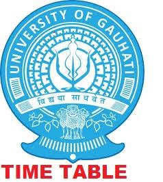 Gauhati University 1/2/3/4/5/6 Sem Schedule 2019-20 - GU TDC  Sem Date sheet 2019 2
