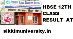 HBSE 12th Result 2020 - Haryana Board +2/XIIth Result 2020 1
