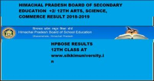 HPBOSE +2 Results-2019 - HP Board 12th Results 2019 Exam Date