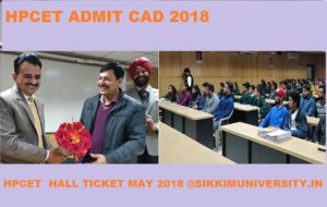 HP Common Entrance Test Admit Card 2018 - HPTU CET Hall Ticket 2018 Download Here 1