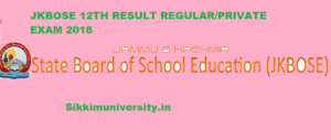 JKBOSE 12th Results May 2020 - Check JK Board 12th Private & Regular Result 2020 1