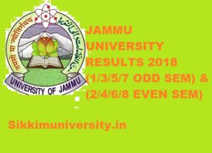 Jammu University Result 2021 1/2/3/4/5/6/7/8 ODD & EVEN Sem Part I, II, III @coeju.com 1