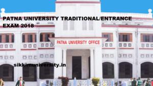 Patna University Result 2019 Entrance/Traditional Exam BA, BSC, BCOM 1