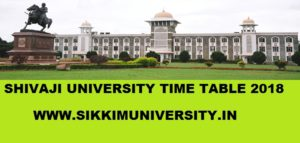 Shivaji University 2/4/6 Sem. Time Table 2021, Unishivaji.ac.in Part I, II,III UG Datesheet 2021 1