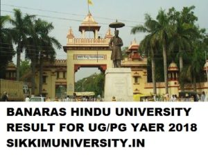 Banaras Hindu University Results/Merit List 2019 April/May Exam Part I, II, III year UG/PG 1
