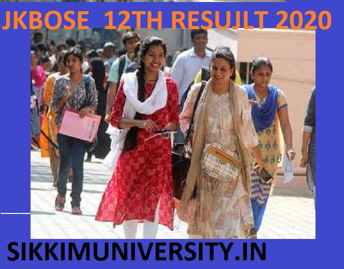 JKSBOSE Results 2020 for 12th & 10th March Exam Download JK Intermediate Result 1