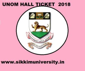 Madras University Hall Ticket 2021 for Part 1,2,3 - UNOM UG/PG Exam Admit Card April 2021 1