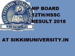 Mpresults.nic.in - MP Board 12th All Stream Results Date 2020, MPBSE Result HSSC March 2020 1