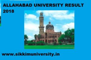Allahabad University Result 2021 Part Ist, 2nd,3rd Year BSC, BCOM BA MSC MA MCOM 1