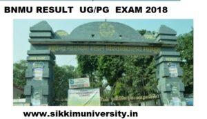 BNMU Result 2021 for Part I, II, III Year - B.N. Mandal University B.Com/BA/MSC/MCA/UG/PG Result 2021 1