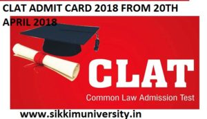 Download CLAT Admit Card 2019 Release TODAY - Common Law Admission Test Hall Ticket Release Date 20 April 2019 at Clat.ac.in 1