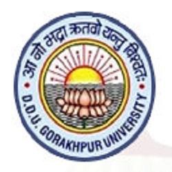 DDU Gorakhpur Date sheet 2020 for Part I, II, III Year - DDU  Time Table 2020 BA BSC BCOM Exam 1