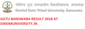 GGTU, बाँसवाड़ा B.A Ist Year Result 2020 By Name & Roll Number wise ggtu.ac.in 1