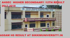 AHSEC Result/Toppers - Assam HS Results 2020 - Check Assam Board 12th Result 2020 1