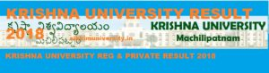 Krishna University Part Ist, 2nd, 3rd Result 2019 BA BSC BCOM MSC MCOM 1