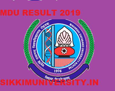 MDU B.Tech May Result 2021 -1st,2nd,3rd, 4th,5th,6th,7th,8th Semester mdurohtak.ac.in 1