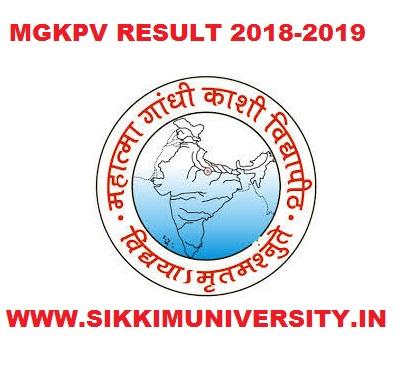 MGKVP Result 2021 Sem/Annual Part I, II, III Year BA BSC BCOM Exam Mgkvp.ac.in 1