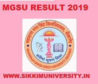 MGSU B.Com Ist, 2nd, 3rd year Result 2020 Today 24th May at Mgsubikaner.ac.in 1