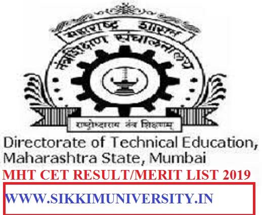 MHT-CET Cutoff Marks/Result/Merit List 2021, Maharashtra CET Score/Counselling Process 1