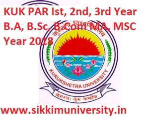 KUK Ist,2nd, 3rd year Result 2020 for BSC BA BCOM MA MCOM Exam 1