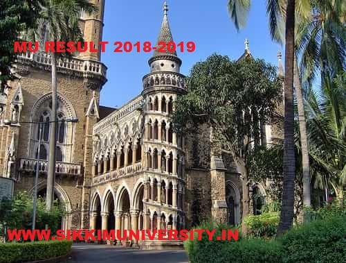 Mumbai University BA FY, SY, TY Results 2019 - MU Mumai