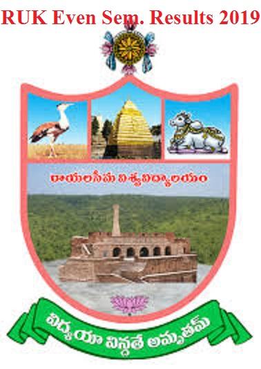 Rayalaseema Univeresity 2nd/4th/6th/8th Sem. Result 2021 @ruk.ac.in 1