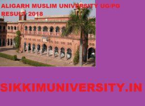 Aligarh Muslim University Result 2019 Ist, 2nd, 3rd Year BA BCOM BSC MA MSC MCOM Exam 1