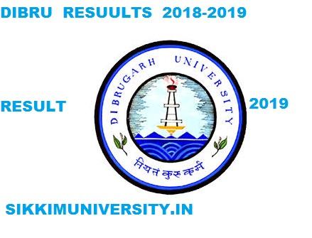 Dibru.ac.in - Dibrugarh University Result 2021 Part 1/2/3 BA BSC BCOM Exam 1