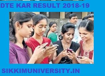 btekarlinx.net DTE Karnataka Dip. Result 2020 1/2/3/4/5/6 Semester 2020 1
