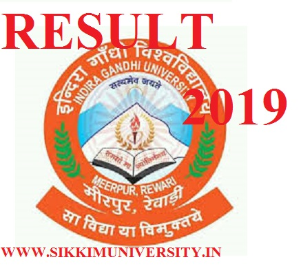 IGU Meerpur Result 2019  Ist, 2nd, 3rd Year BSC, BCOM, BA Exam @igu.ac.in 1