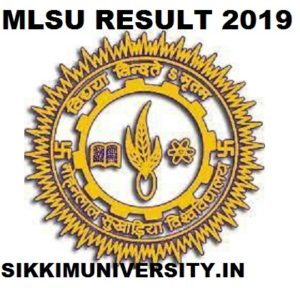 MLSU B.Sc, B.Com Part I, II, III Result 2020 for Private & Regular courses at Mlsu.ac.in 1