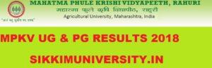MPKV Ist, 2nd, 3rd Year Results 2020,  Mahatma Phule Krishi Vidyapeeth UG/PG Result 2020 1