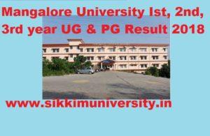 Mangalore University Ist, 2nd, 3rd Year Result 2020 BSC BA BCOM LLB BCA LLM B.Tech MA Exam 1