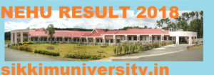 NEHU BA Ist, 2nd, 3rd Result 2020 - North East Hill University Part I, II, III UG/PG Result 2019 1
